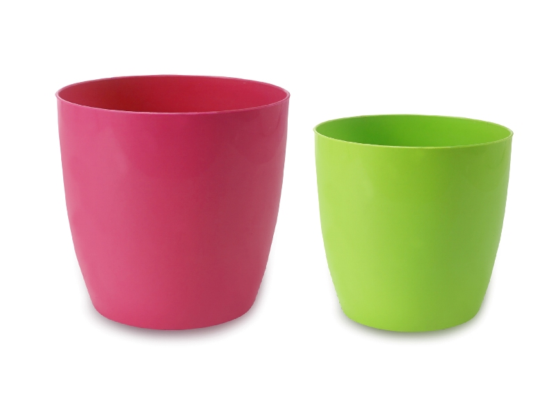 Solid Color Pot Front View by the best online nursery shop Greendecor.