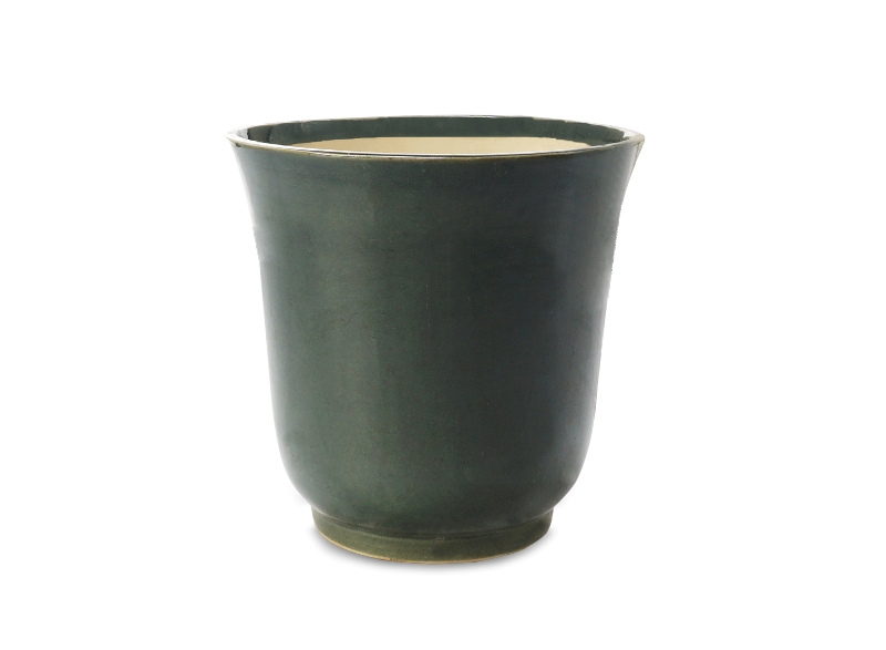 Matte Finish Pot Front View by the best online nursery shop Greendecor.