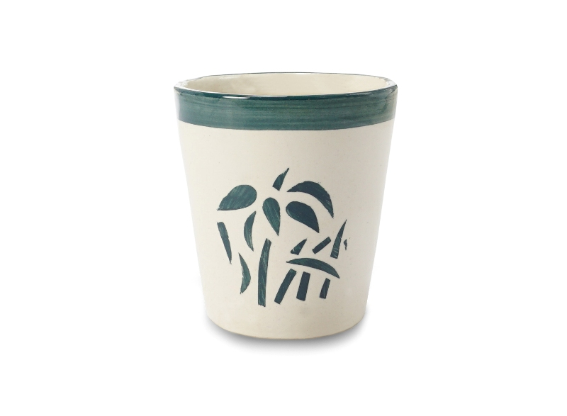 Printed Pot Front View by the best online nursery shop Greendecor.