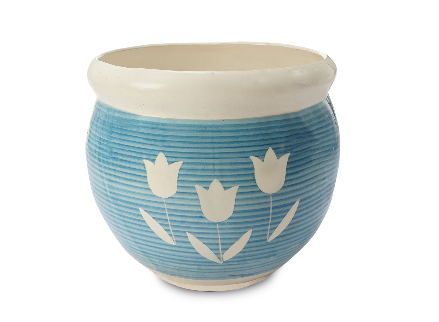 Printed Pots Front View by the best online nursery shop Greendecor.